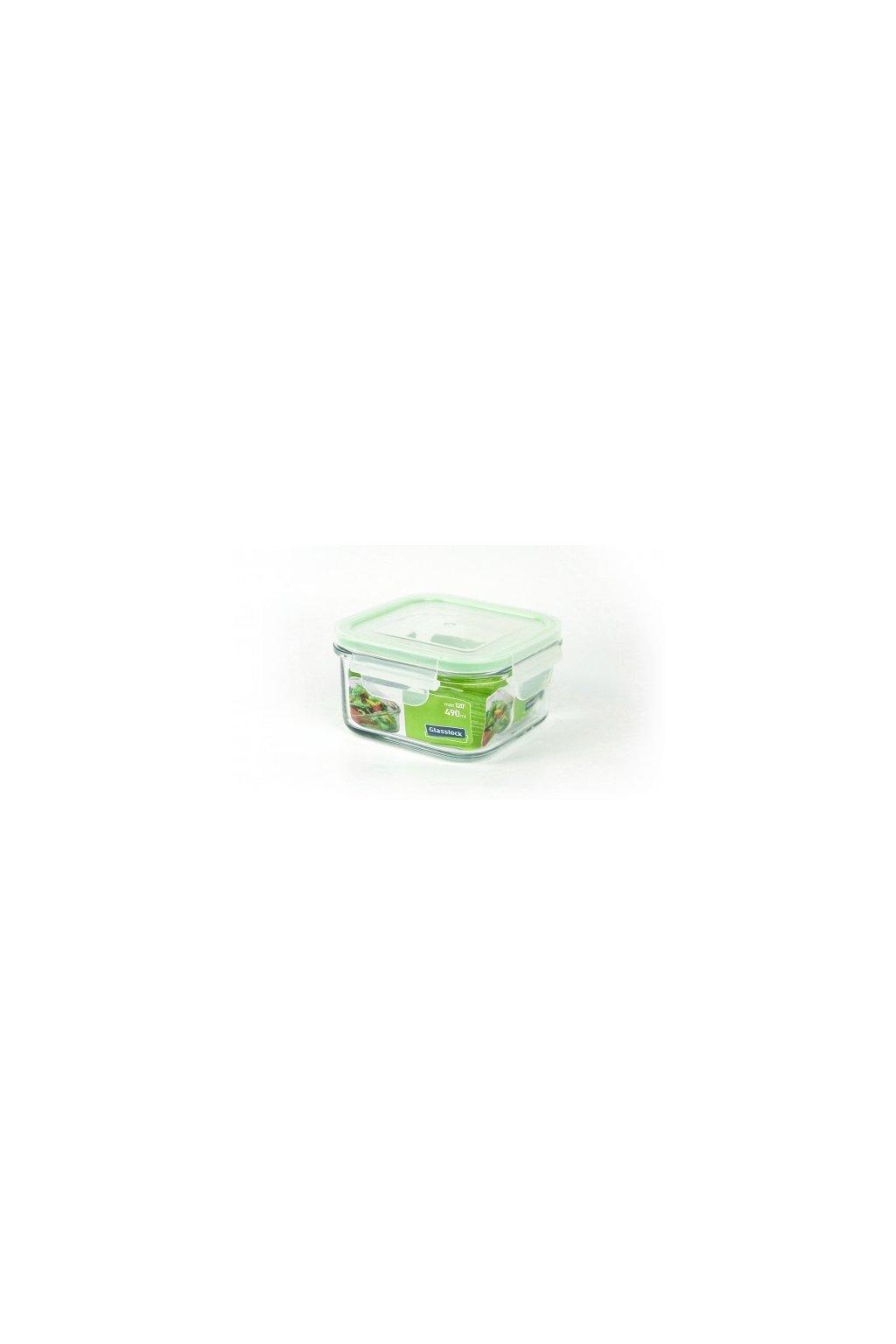 Glasslock sklenena doza na potraviny 490 ml 1