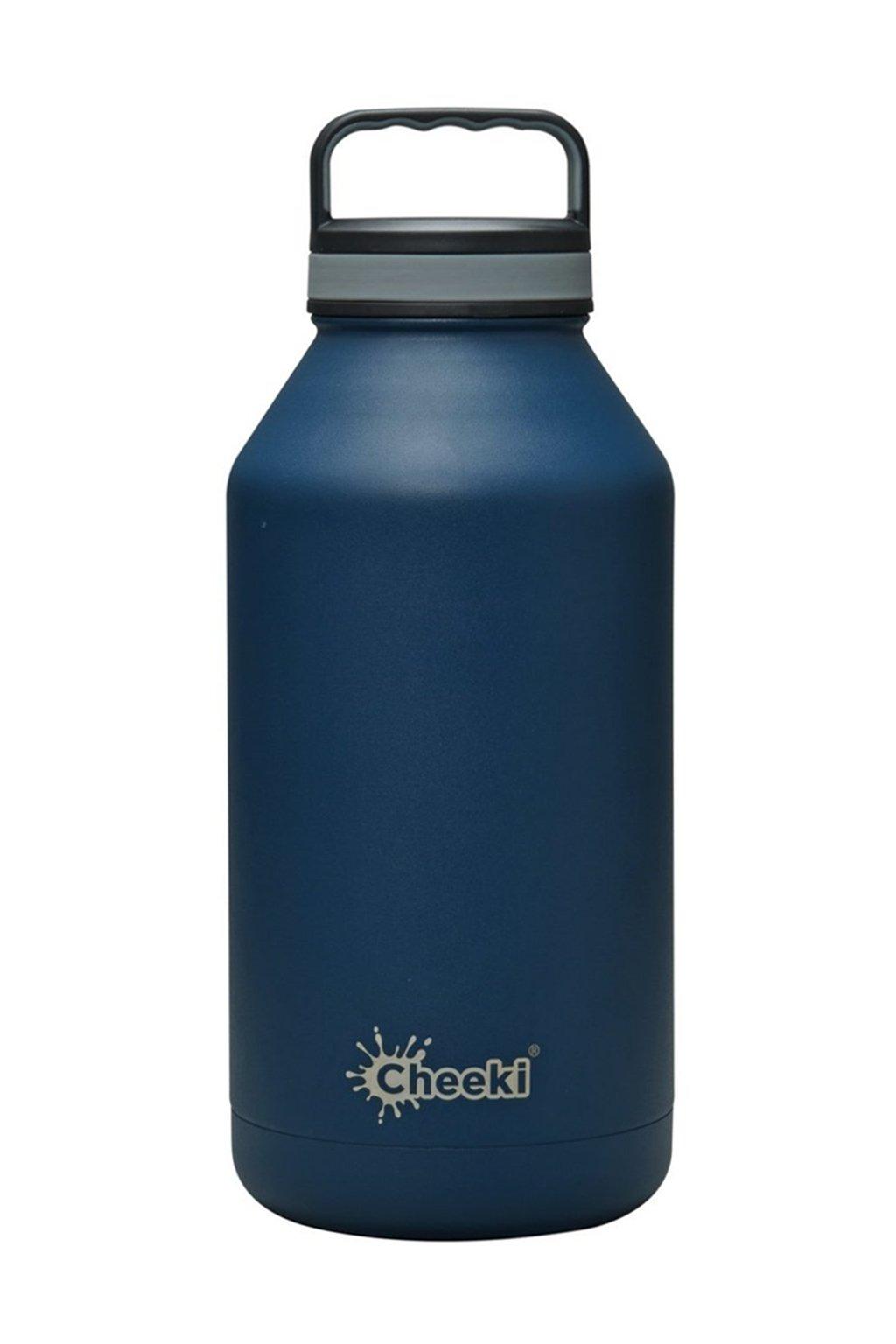 Flasa na vodu 2 litre s izolaciou Cheeki modra