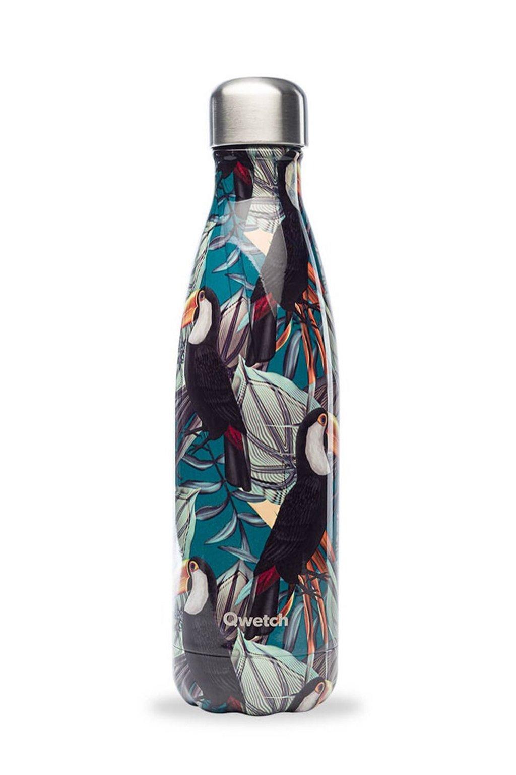Termofľaša Qwetch 500 ml Tropical Toucan
