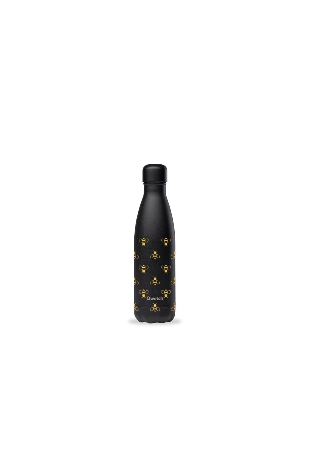 insulated stainless steel bottle all black bee 500ml 1