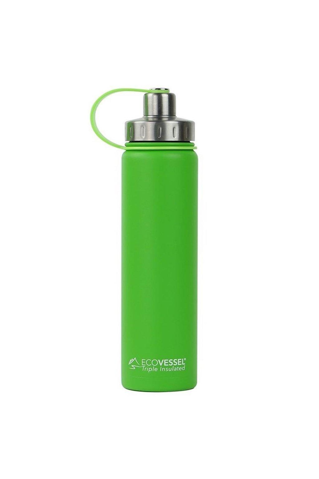 Termoska na vodu Eco Vessel 700 ml kriklavo zelena
