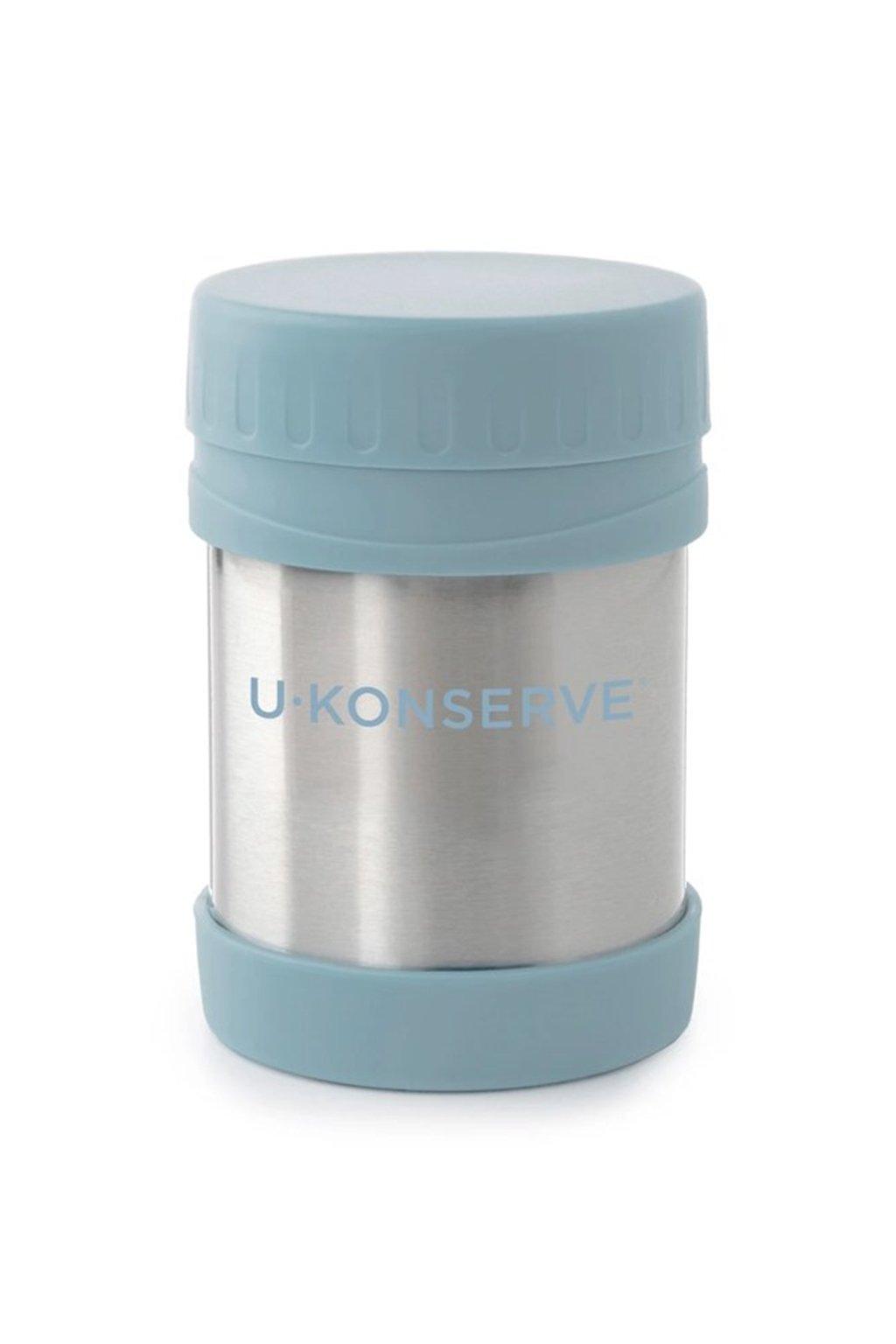 Termoska na jedlo detska U Konserve modra Seafom 350 ml