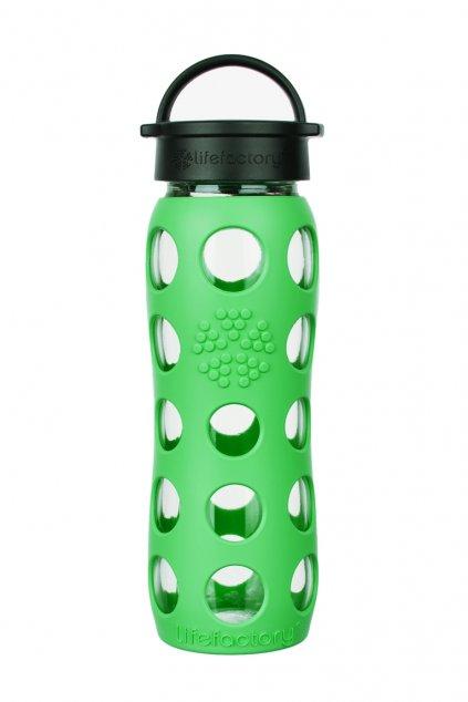 Sklenená športová fľaša Lifefactory 650 ml Moss