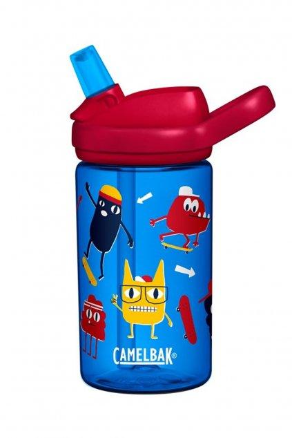 Flasa na vodu pre deti CamelBak Eddy Kids 0,4l Skate Monsters