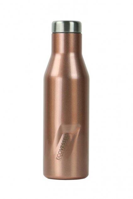 Termo flasa Eco Vessel Aspen 470 ml ruzova metaliza