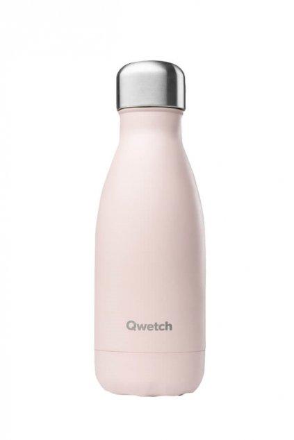 Mini termoska pre dievcata ruzova Qwetch 260 ml