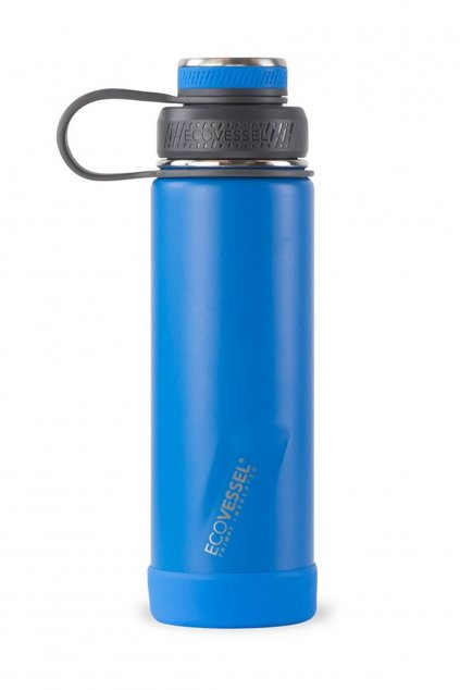 Termoflasa sportova Eco Vessel Boulder 600 ml modra