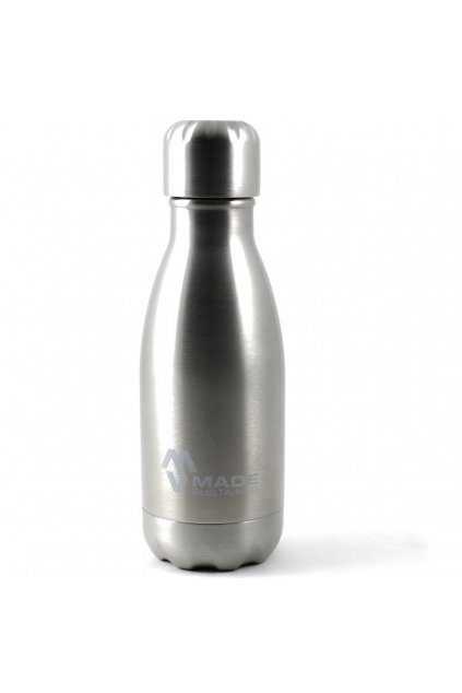 Made Sustained 260ml insulated Knight bottle silver