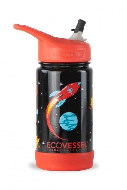 Termoska pre chlapca Eco Vessel Frost 355 ml Raketa