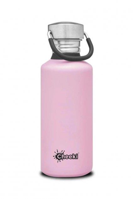 Flasky na vodu Cheeki 500 ml ruzove