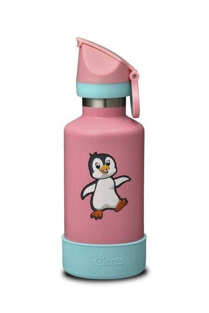 Penguin Cheeki detska termoflasa do skoly 1