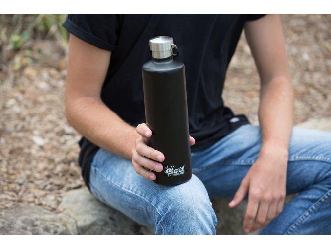 Nerezová fľaša Cheeki 750 ml Artichoke
