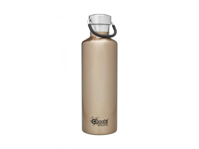cheeki termoflasa 600ml Insulated Classic Champagne Front