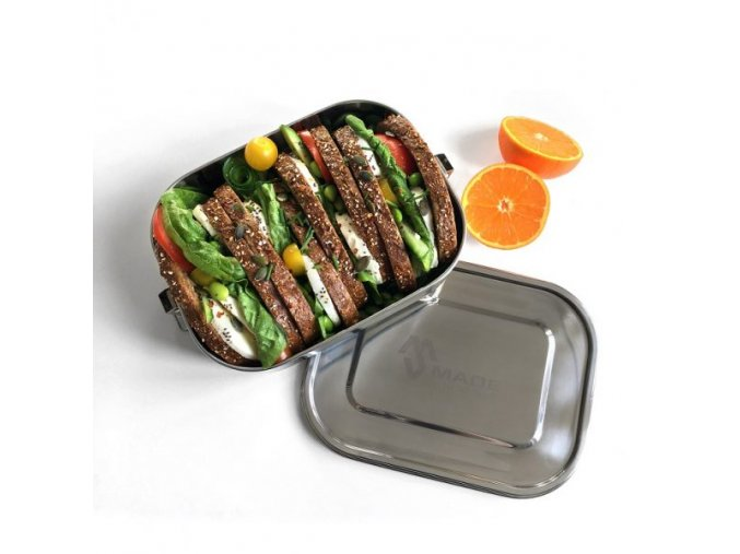 Made Sustained Large leakproof lunchbox with food1