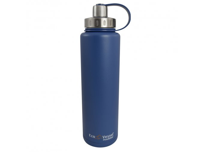 Termo flasa Eco Vessel 1300ml so zavitom modra