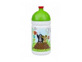 Zdravá fľaša detská krtko zelená