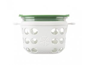 doza lifefactory 475 ml bielo zelena