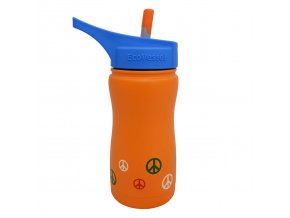 Detská termofľaša Ecovessel 370ml oranžová