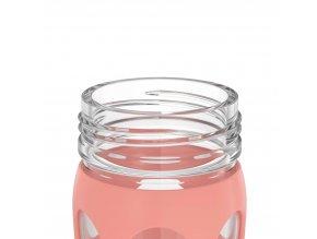 Sklenená fľaša Lifefactory Active Cap PREMIUM 475 ml green envy