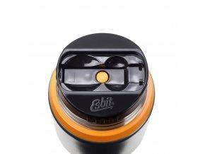 Kvalitna termoska na jedlo Esbit 0,75 L siva oranzova 2
