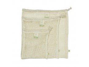 1organic cotton mesh produce bag variety pack set of 3