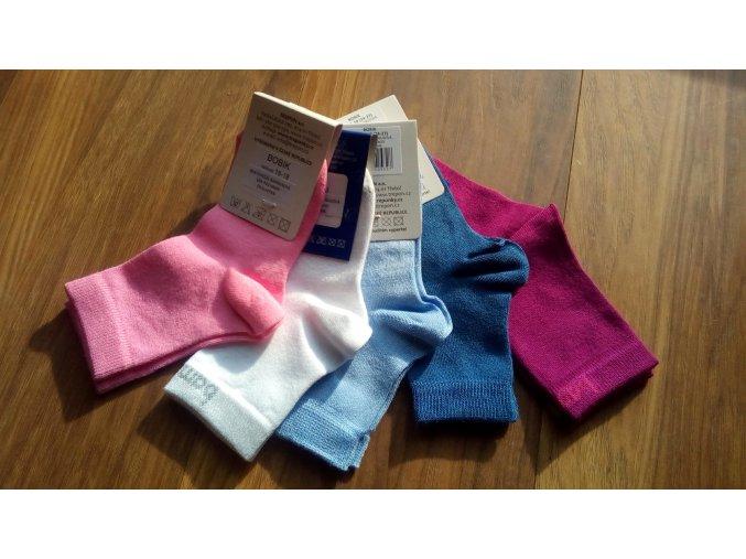 Bambusové ponožky BOBIK- různé barvy
