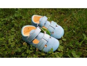 Froddo Prewalkers Sandály světle modrá