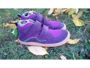 Froddo Barefoot Purple- zimní s ovčí vlnou