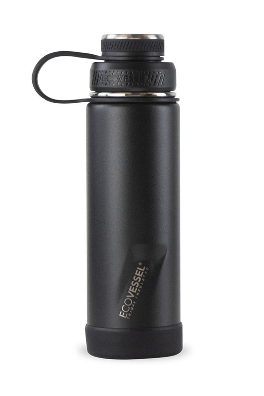 Sportovní termoláhev Eco Vessel Boulder 600 ml černá