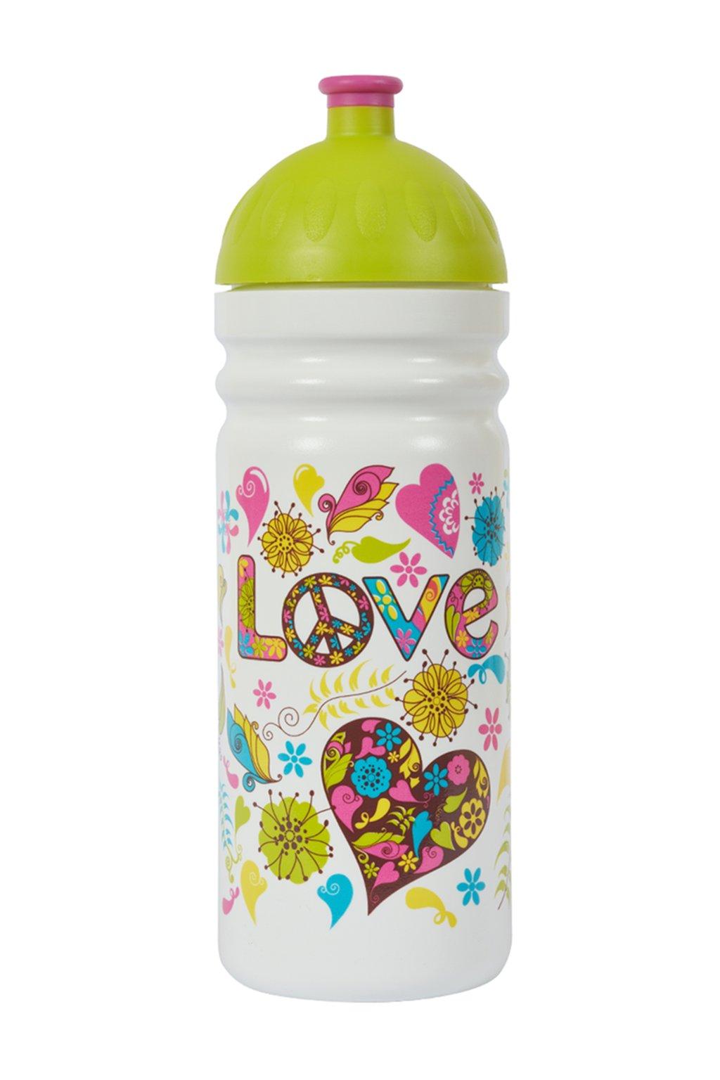 Zdrava lahev pro tinedzery 700 ml hippies