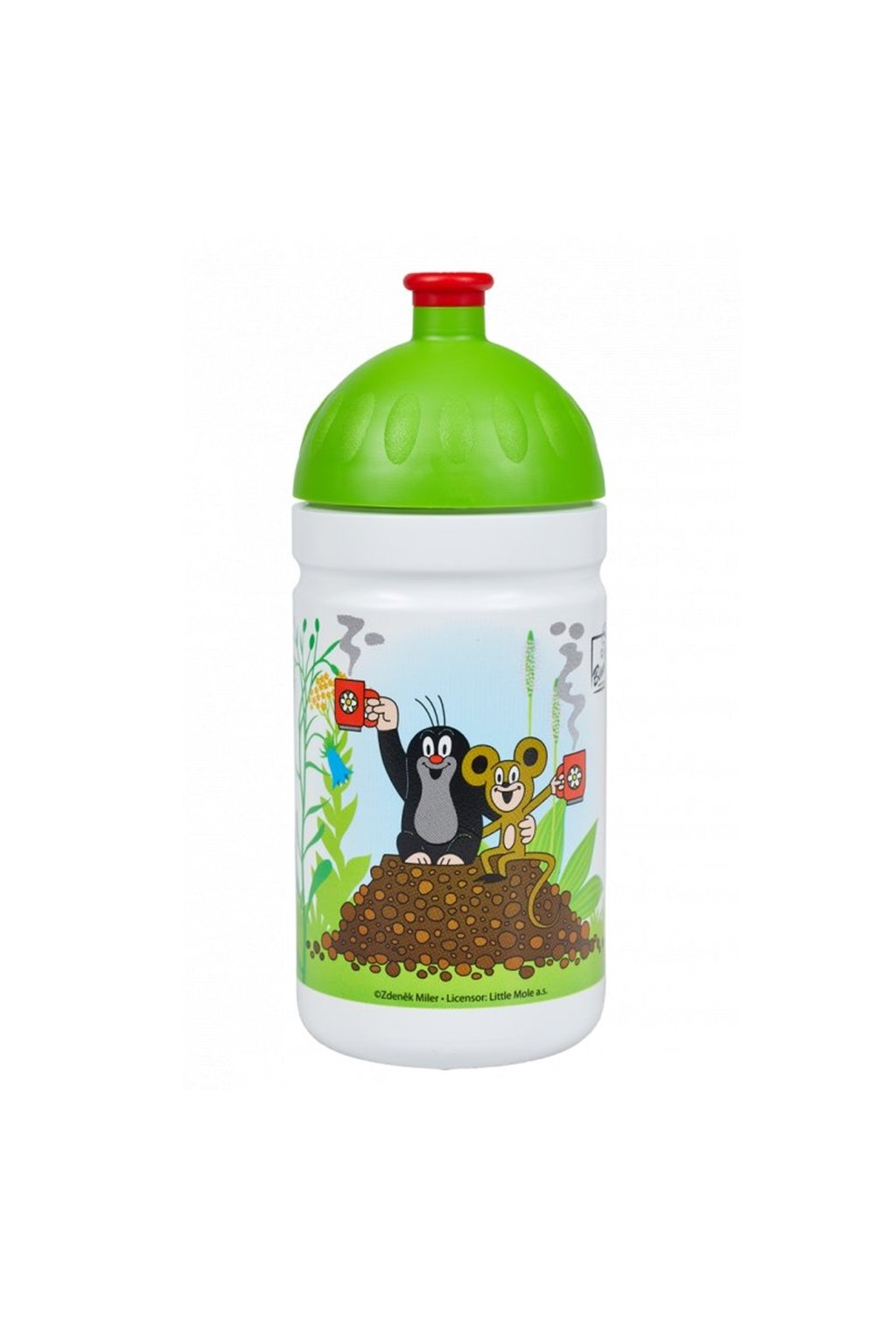 Zdrava lahev detska 500 ml Krtek a jahody