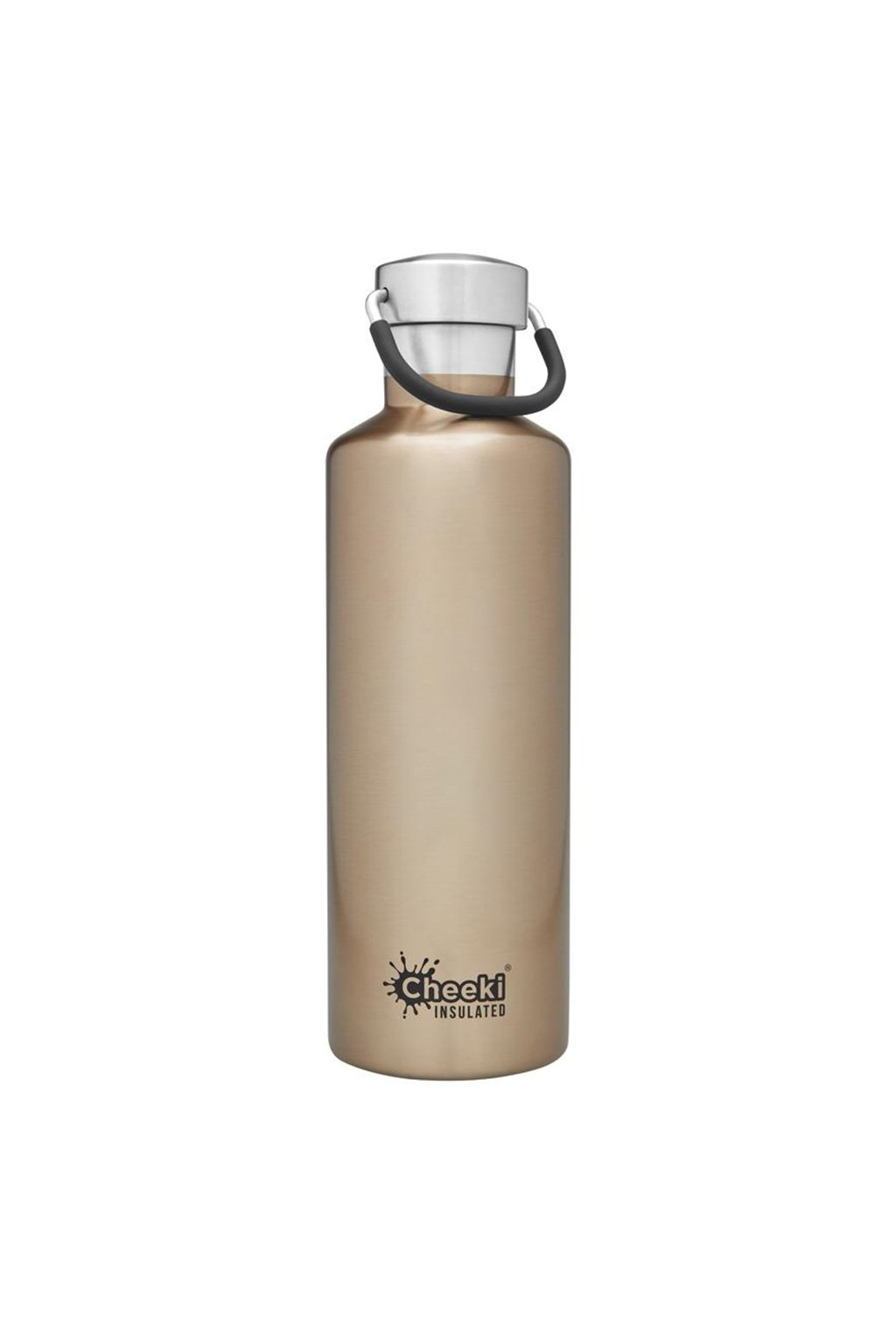 600ml Insulated Classic Champagne Front