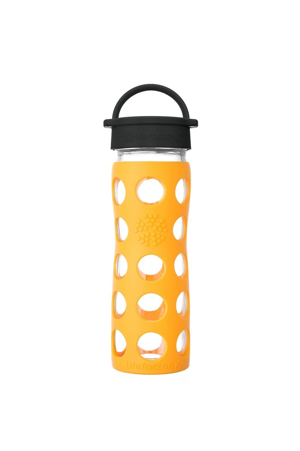 Eco lahev na vodu Lifefactory 475 ml Marigold
