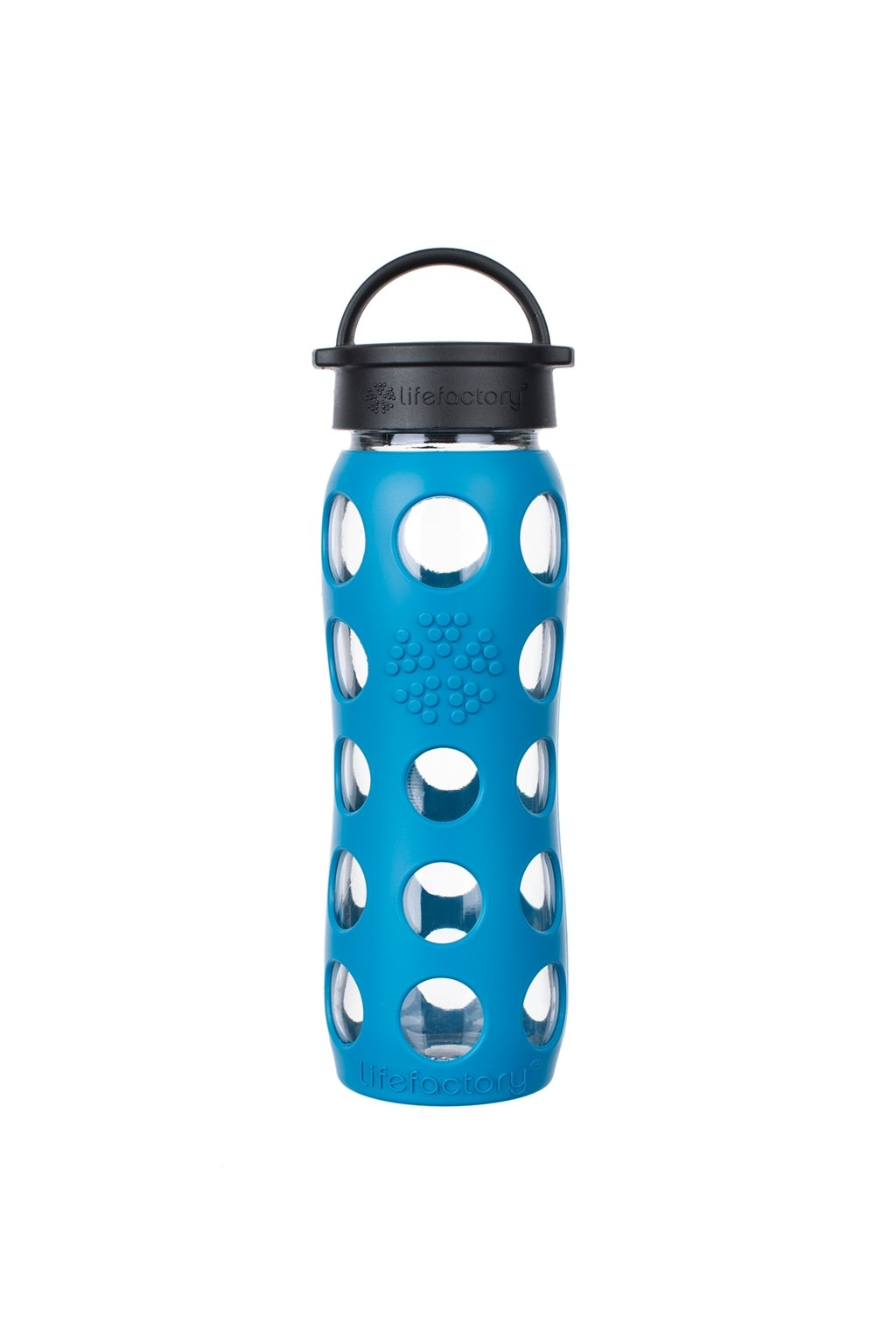 Eko lahev na vodu Lifeafctory 650 ml Teal lake