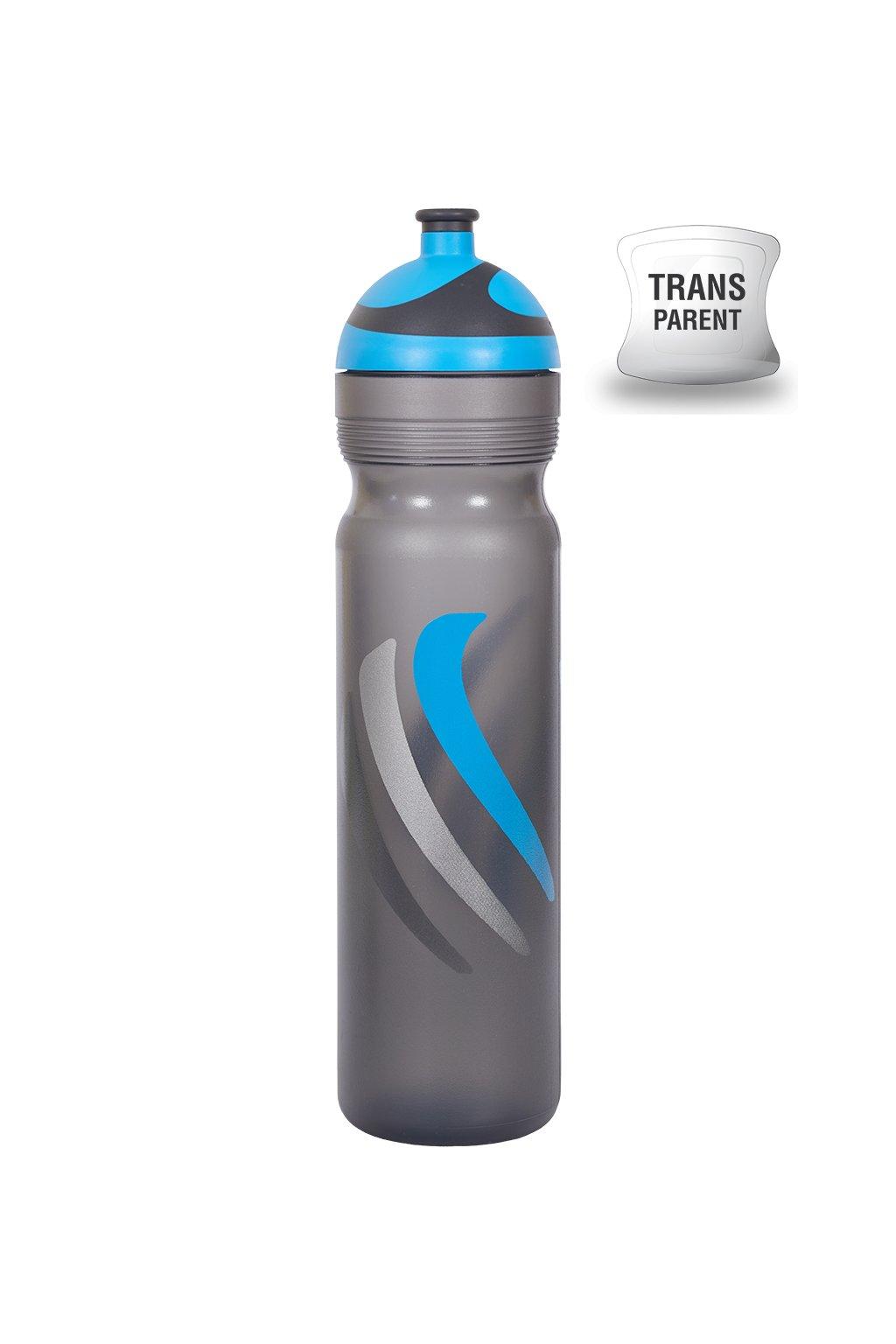 Zdravá lahev - bike / hory modrá 1L