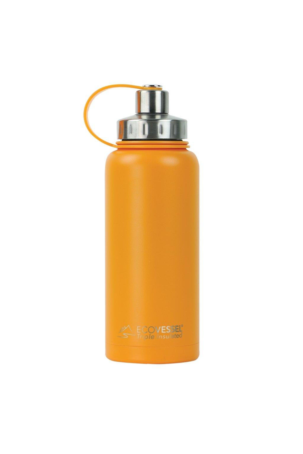 Nerez termoska 1L Eco Vessel oranžová