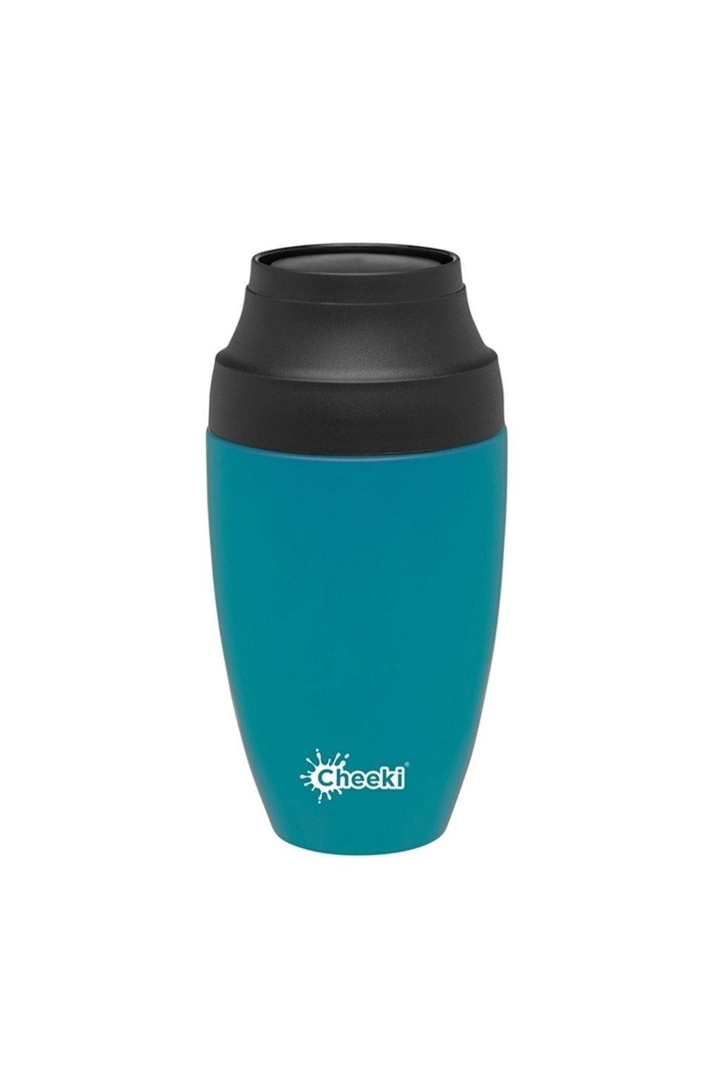 Termohrncek na kavu Cheeki modry 350 ml 1