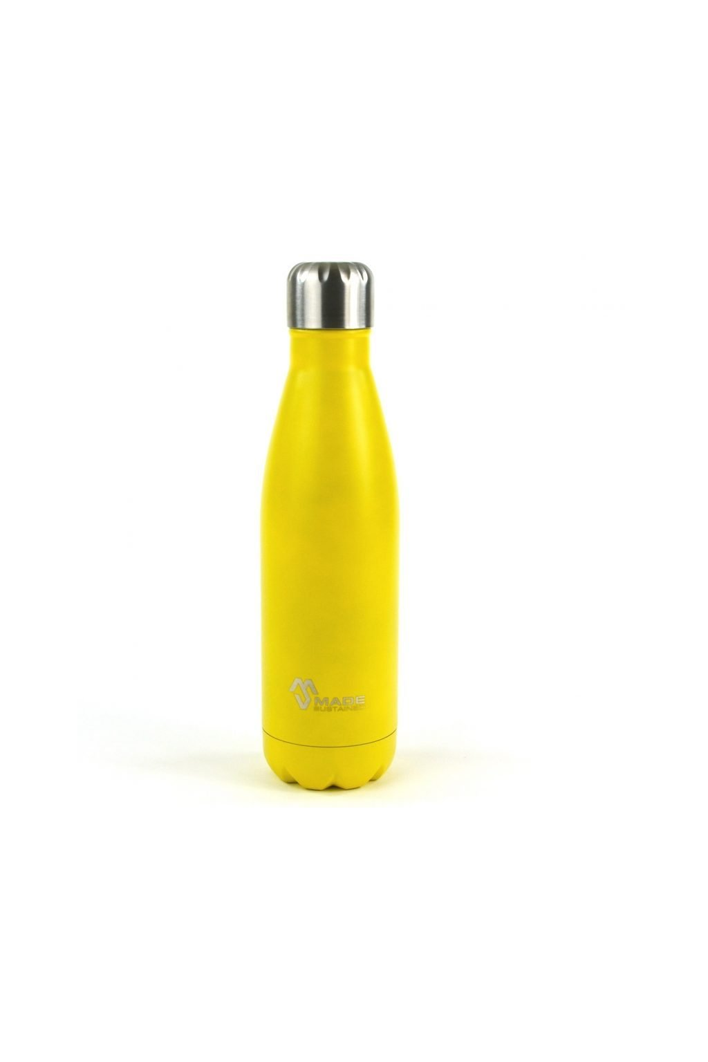 Made Sustained 500ml insulated Knight bottle yellow sun