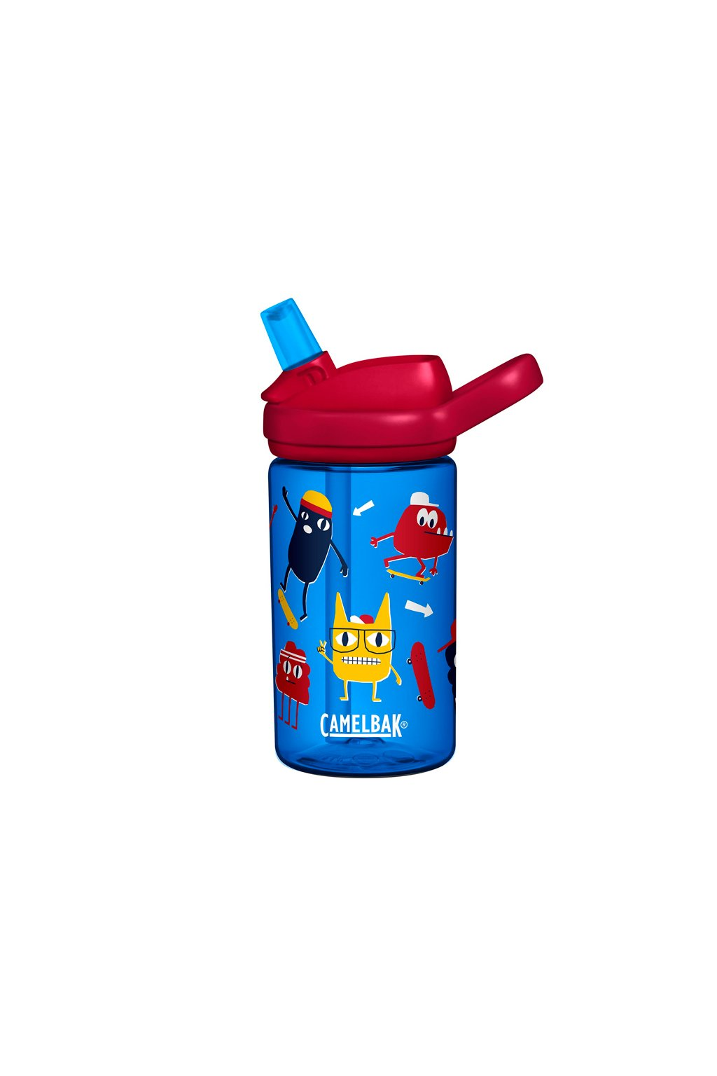 detska lahev camelbak eddy kids 0 4l skate monsters