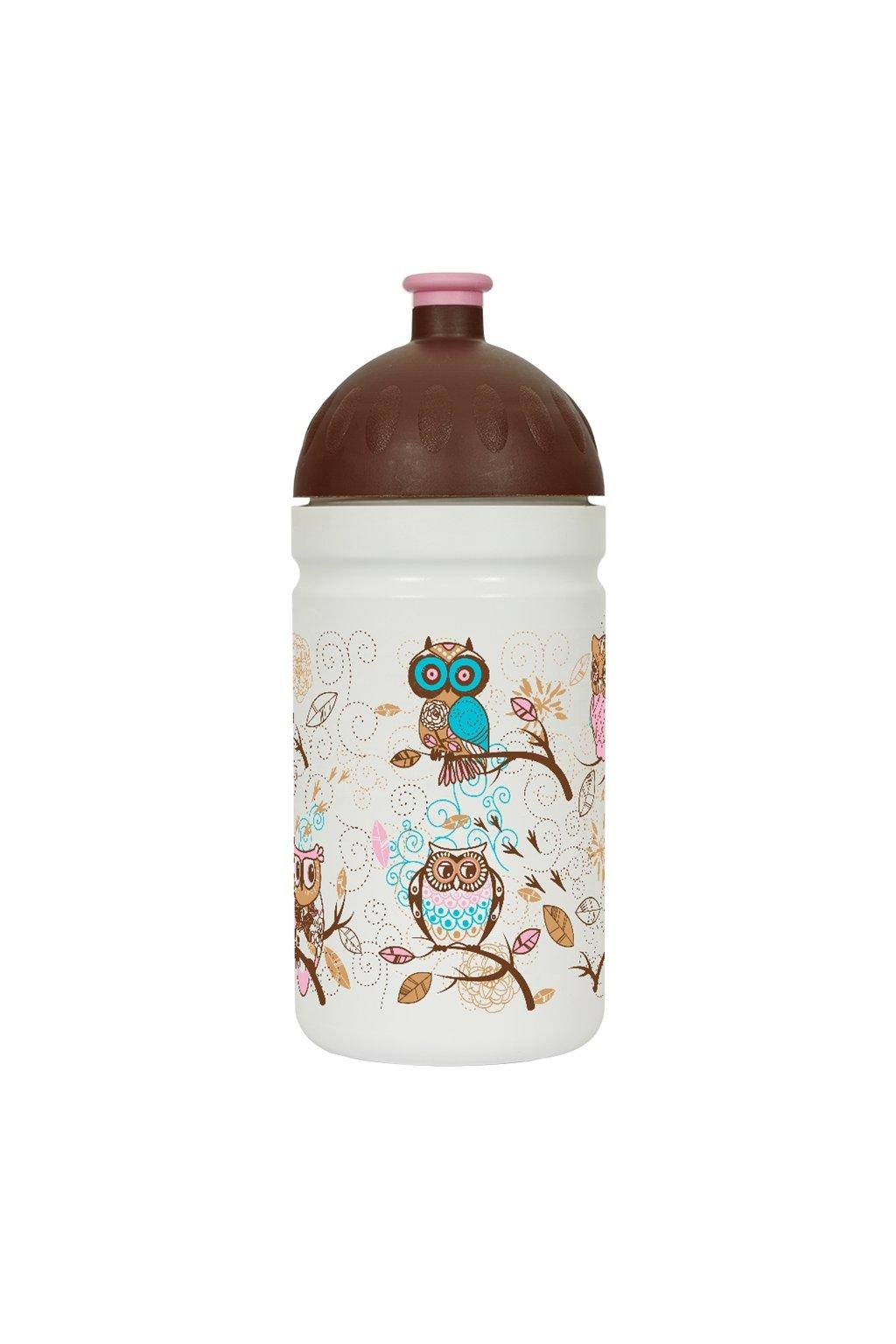 Zdrava lahev detska 500 ml sovy