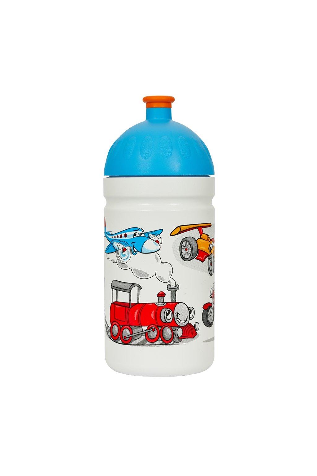 Zdrava lahev detska 500 ml vesela jizda