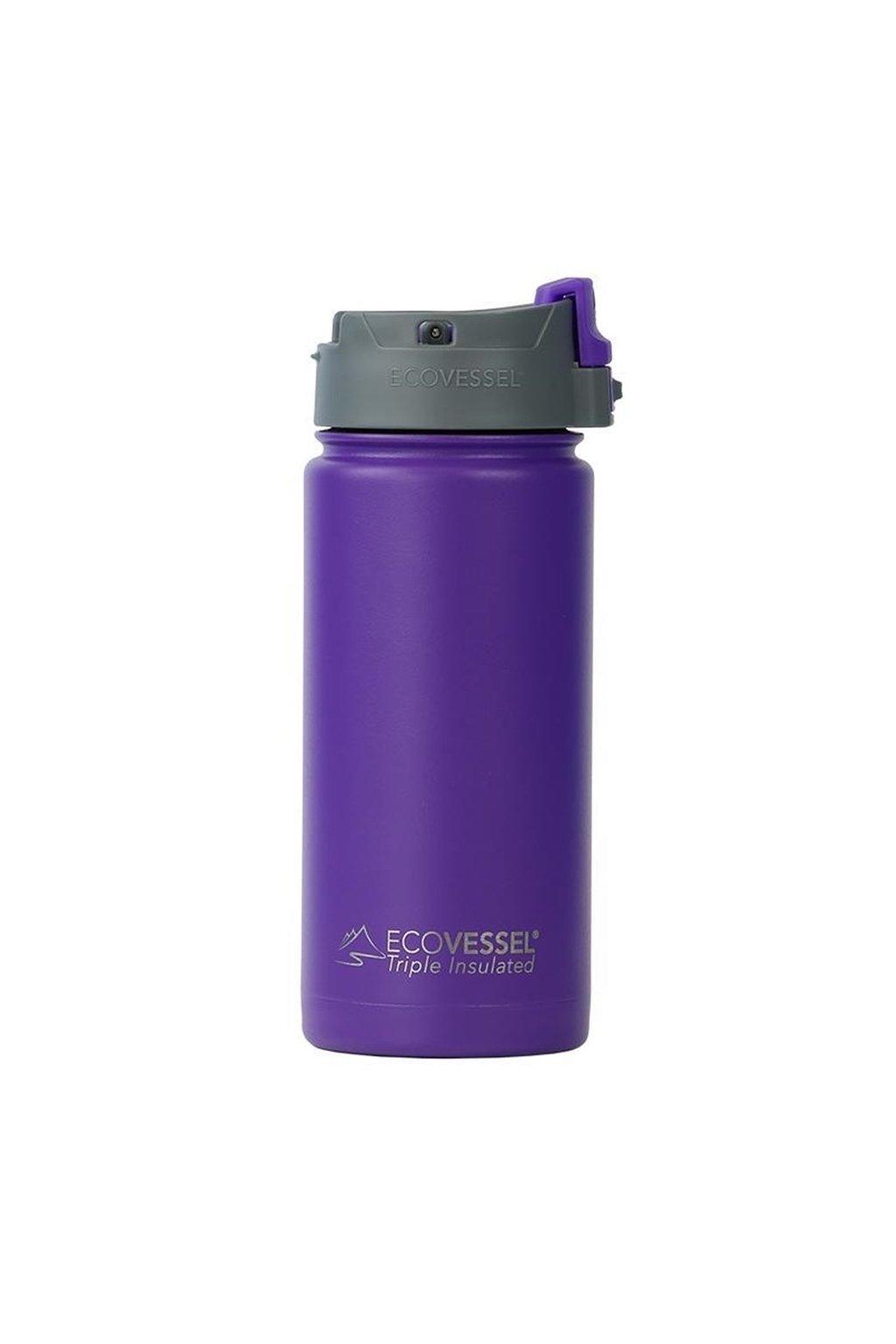 Cestovní termohrnek na kávu Eco Vessel fialový