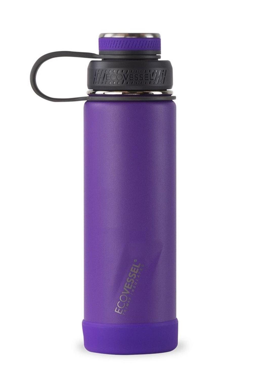 Termolahev vakuova Eco Vessel 600 ml fialova