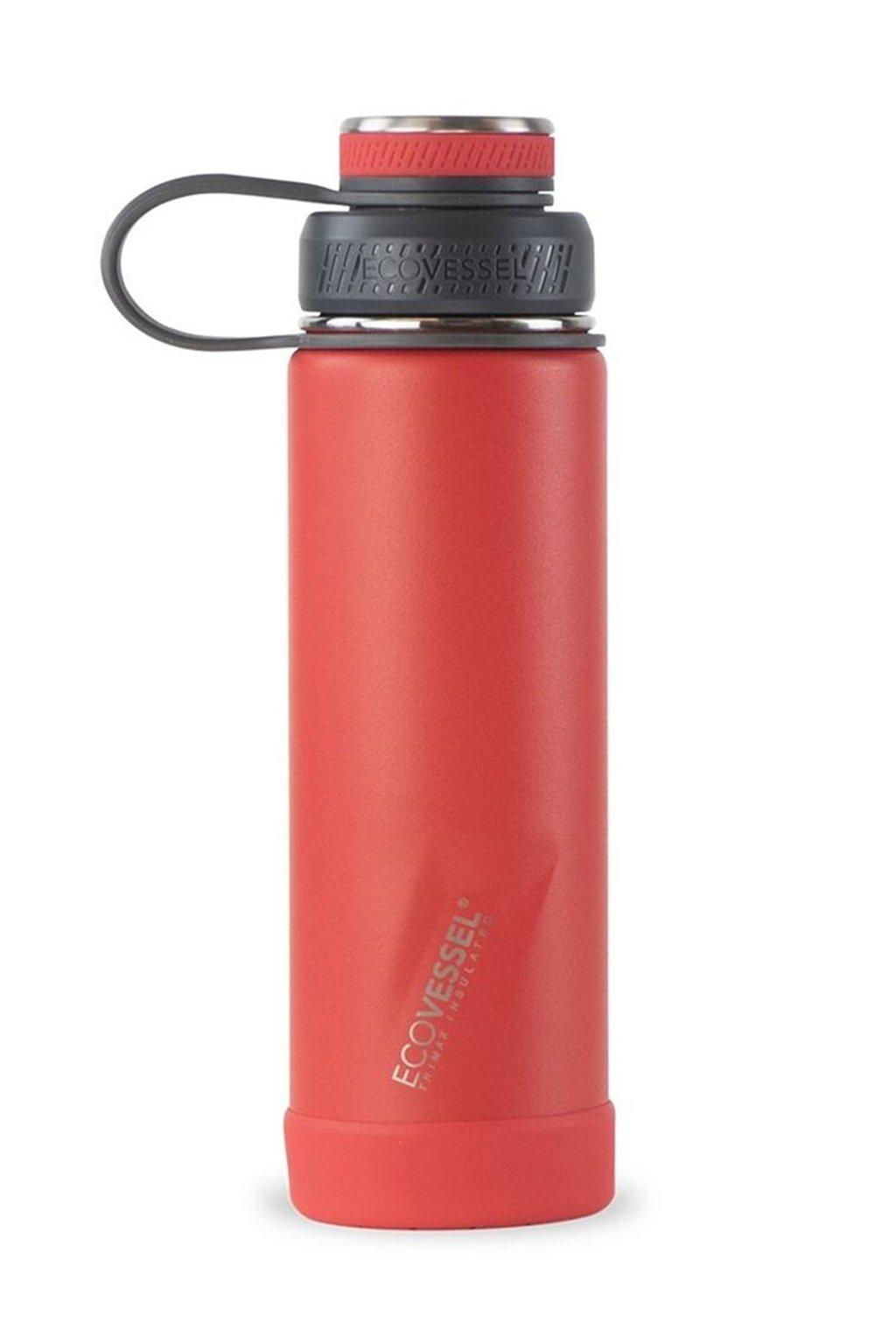 Termoska na pití Eco Vessel Boulder 600 ml červená