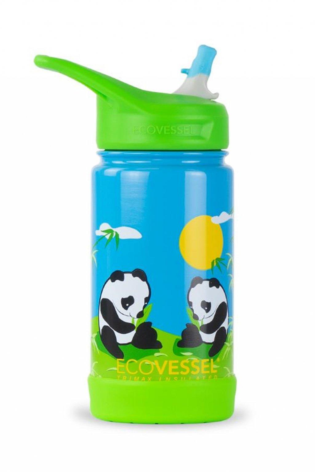 Termolahev do skoly Eco Vessel Frost 355 ml Pandy
