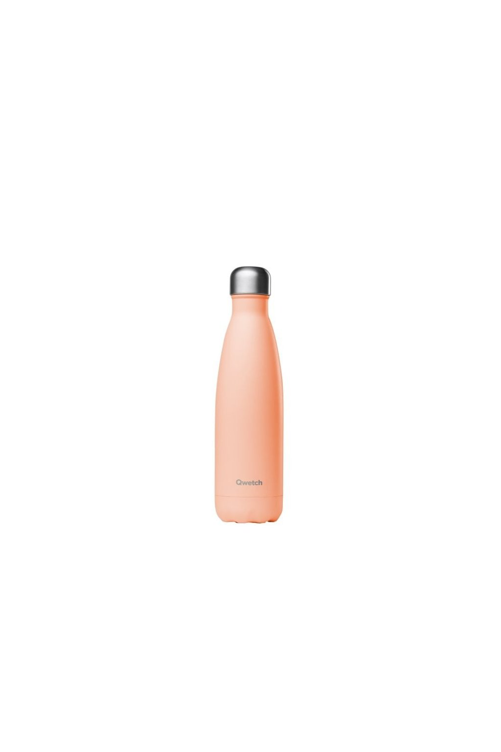 insulated stainless steel bottle pastel peach 500ml
