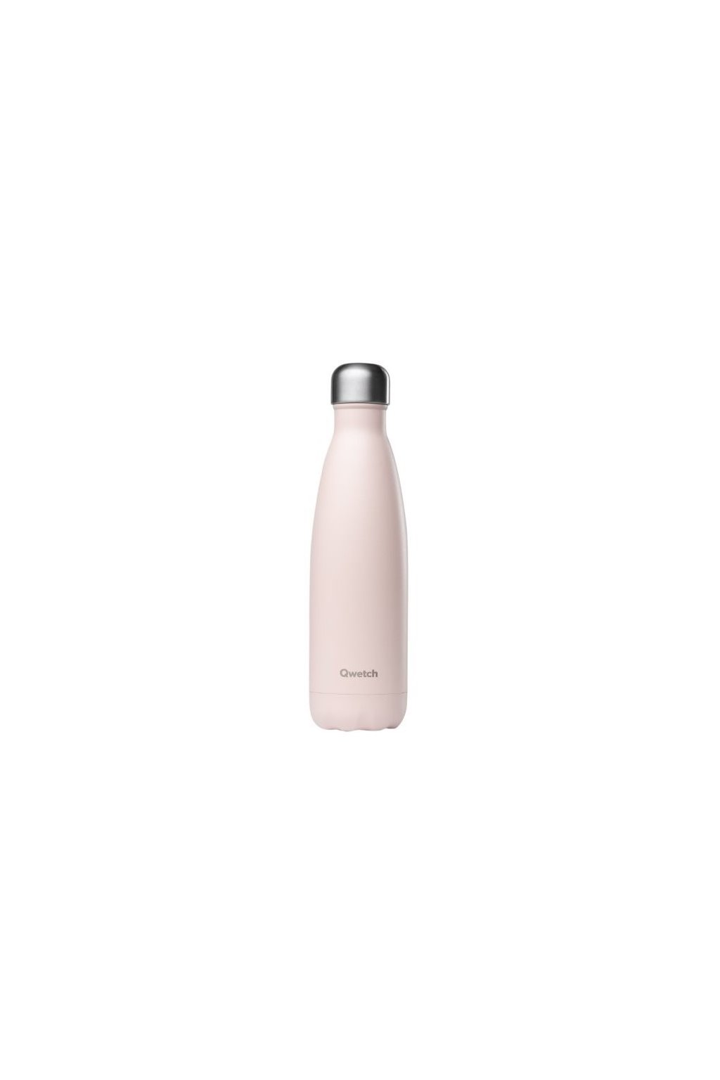 insulated stainless steel bottle pastel pink 500ml