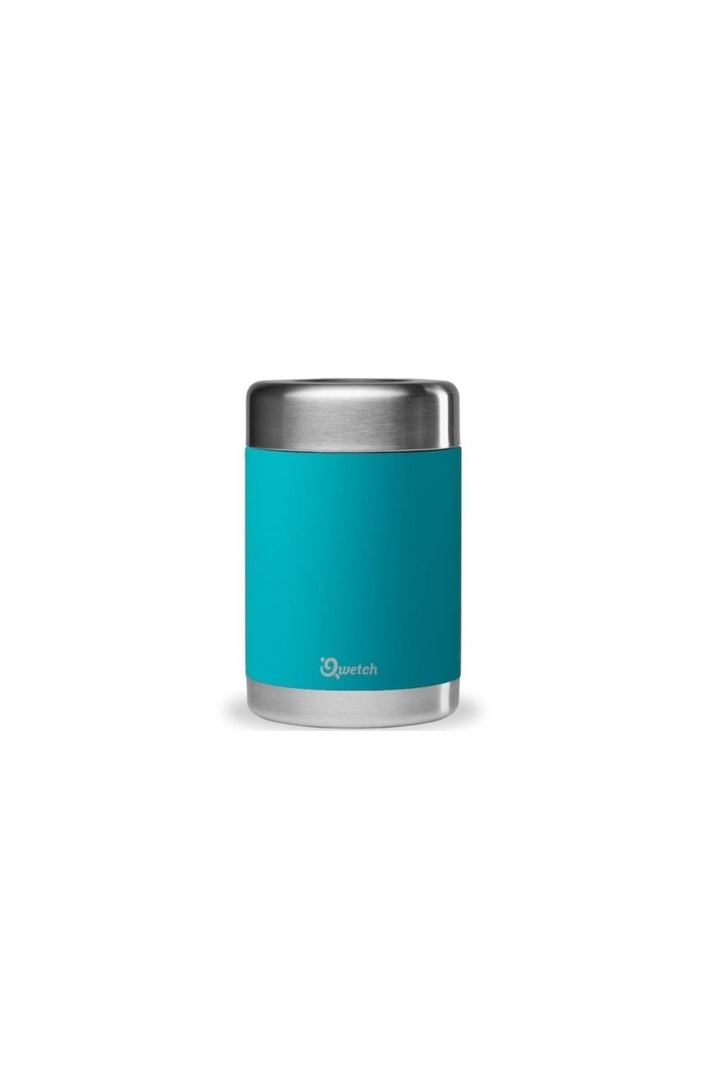 on the go vacuum insulated food jar turquoise 500ml