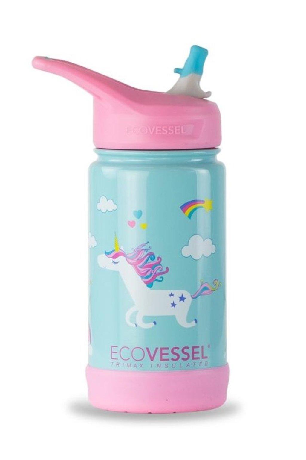 Termoska pre deti Eco Vessel jednorozec