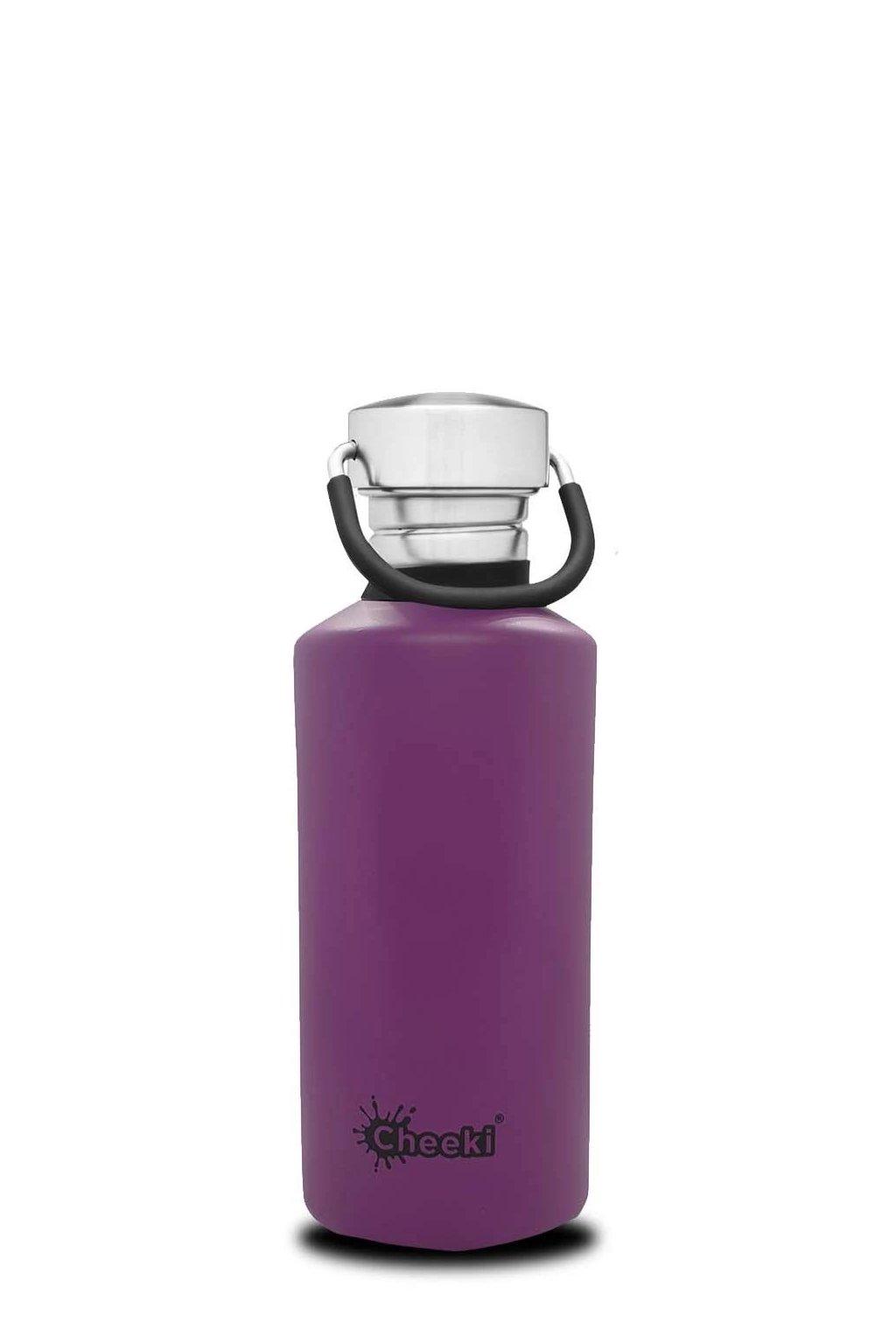 Flase na vodu Cheeki 500 ml Purple